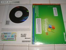 MICROSOFT WINDOWS XP HOME FULL w/SP3 OPERATING SYSTEM OS MS WIN =BRAND NEW=