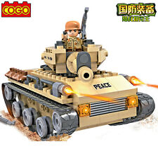 COGO Building Block Military Army Action Tank Marines #3321 192pcs