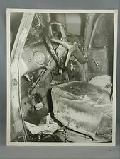 Paper Photographer Jim Ryan Black and White Photo Car Crash Victoria B.C