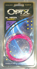 OPTX by streetglow 5' EL Neon String - purple - (OPEL5PR)