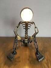 SALE!!! VINTAGE INDUSTRIAL MODERN HAND-MADE ART METAL TABLE DESK LAMP