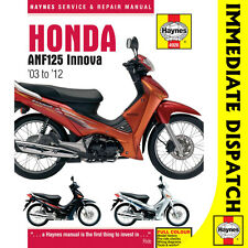 [4926] Honda ANF125 Innova Scooter 2003-12 Haynes Workshop Manual