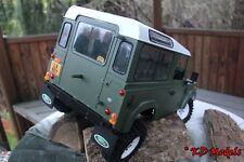 LAND Rover Heavy Duty RUBBER MUD ALETTE 4x4 gelande 2 scala Crawler RC4WD D90 pr