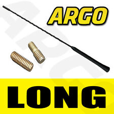 BLACK RUBBER REPLACEMENT AERIAL ANTENNA HYUNDAI GETZ COUPE MATRIX TUSCON LANTRA