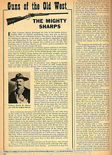 The Mighty Gun of the Old West - Sharps Rifle