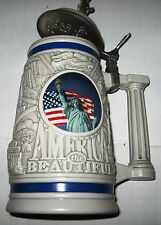 America The Beautiful Stein by Avon, with Insert