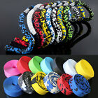 2Pcs Cycling Road Bicycle Bike Sports Cork Bar Grip Handlebar Wrap Tape+Bar Plug