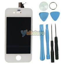White Replacement LCD Touch Screen Digitizer Glass Assembly for iPhone 4 GSM Ver