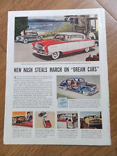 1955 Nash Ambassador Country Club & Healey Sports Car Ad