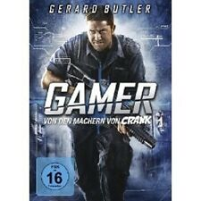 GAMER (FSK 16) DVD ACTION GERARD BUTLER NEU
