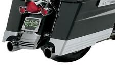 Cyclesmiths Billet Saddlebag Extensions w/ Cutouts for Dual Exh CS200