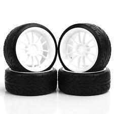 *Pattern Drift Tires & Wheel Hub For HPI HSP RC 1:10 On-Road Car PP0069/PP0292