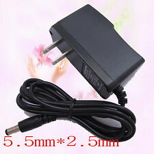 AC Converter Adapter DC 12V 1A Power Supply Charger US plug 5.5mm x 2.5mm 1000mA