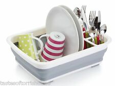 Kitchen Craft Grande Plegable Dish Washing zona de desagüe Escurridor Cubiertos Rack