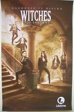Witches of East End Lifetime TV show series 11 x 17  2014 SDCC Comic Con poster