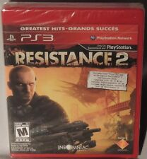 GAME PLAYSTATION 3 PS3 RESISTANCE 2 Greatest Hits NEW MINT SEALED