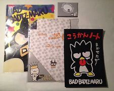Vintage 1990s Lot Of New Bad Badtz Maru Stationary Journal & Slip Cover Sanrio