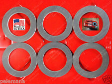 6 New Jerrycan CAP GASKETS Metal Gerry G Can 5 Gallon 20L Rubber Fuel Gas USMC