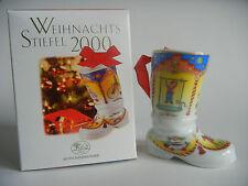 Hutschenreuther Bottes de Noël 2000 (mon numéro référence 2000-1)