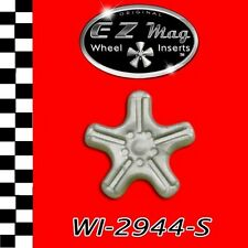 WI2944S Slotted Euro-Style Wheel EZ Mag Wheel Inserts Fits H&R Chassis Slot Cars