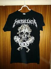 Extremely rare Metallica t-shirt 30th Anniversary gig Fillmore SF 2011 small