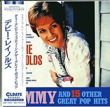 DEBBIE REYNOLDS-TAMMY AND 15 OTHER GREAT POP HITS-JAPAN MINI LP CD C94