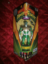 "MIGHTY MORPHIN POWER RANGERS TOMMY GREEN RANGER 5"" FIGURE ONLY AT TOYS R US"