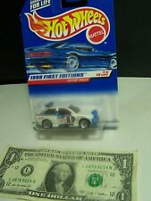 Hot Wheels White Escort Rally #8 - First Editions - 1998