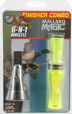 Buck Gardner Mallard Pintail Whistle Combo - Call Great For Beginners/Outdoors