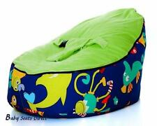 Baby Beanbag Baby Seat Baby Chair Blue Color Siclered Baby Bean Bag No Fillings
