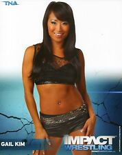 "GAIL KIM TNA IMPACT WRESTLING RARE PROMO PHOTO 8x10"" wwe"