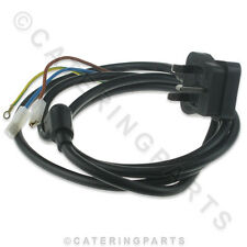 ROBOT COUPE 504275 MAINS CABLE UK STANDARD PLUG FOR MIXER BLENDER R301 R401 CL30