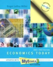 Economics Today: 2001-2002 MyEconLab Edition (11th Edition) by Miller, Roger Le