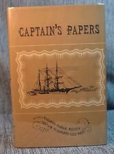 Captain's Papers Log of Whaling & Sea Experiences Ellsworth Luce / SIGNED Mayhew