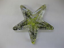 Kosta Boda Textured Glass Starfish by Ann Wahlstrom ~ Swedish ~ Signed & Label