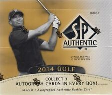 2014 Upper Deck SP Authentic Golf Hobby Box