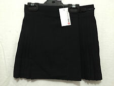BNWT Girls Sz 6 Target Brand Smart Black Polyester/Viscose Pleated Netball Skirt