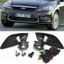 1Set Front Fog lights Lamp & Cover & Switch OEM for 2009 2010 2011 Ford Focus
