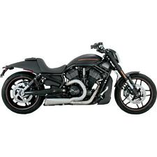 Vance and Hines Competition 2:1 Black 75-115-9 Fits 2006-2014 H-D Dyna VH-0181