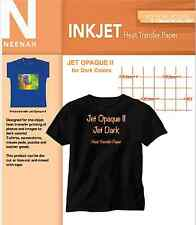 "Neenah Ink Jet Opaque II dark Transfer Paper 8.5"" x11"" (10 Sheets)"