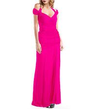 Tadashi Shoji Silk Gown  Pink Size 8