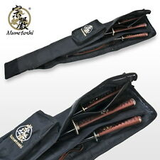 "50"" Long Munetoshi Dojo Sword Carrying Bag for Katana Iaito Bokken Shinai Bo Jo"