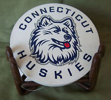 Univ of Connecticut Huskies Collegiate Coasters w/stand by Thristystone 3 pcs