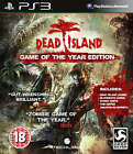 Dead island Game of the Year Edition PS3 *in Excellent Condition*
