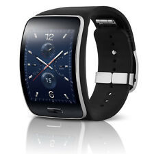 Samsung Galaxy Gear S SM-R750V Smart Watch Curved Verizon Charcoal Black