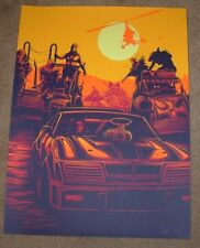 MAD MAX Roar Of An Engine He Lost Everything movie poster art print Dan Mumford