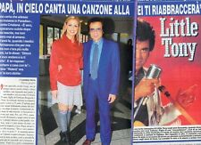 SP83 Clipping-Ritaglio 2013 Cristina Ciacci Little Tony Papà in cielo canta..