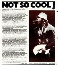 14/11/87pg35 Live Review & Picture, Ll Cool J/eric B And Rakim/enemy - Hammersmi