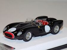 1/43 Tecnomodel Ferrari 250 Testa Rossa 1958 Black & Red Leather Limited to 2