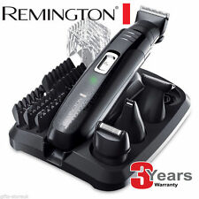 REMINGTON PG6030 EDGE tutto in uno personale GROOMER KIT RASOIO / TRIMMER CORDLESS